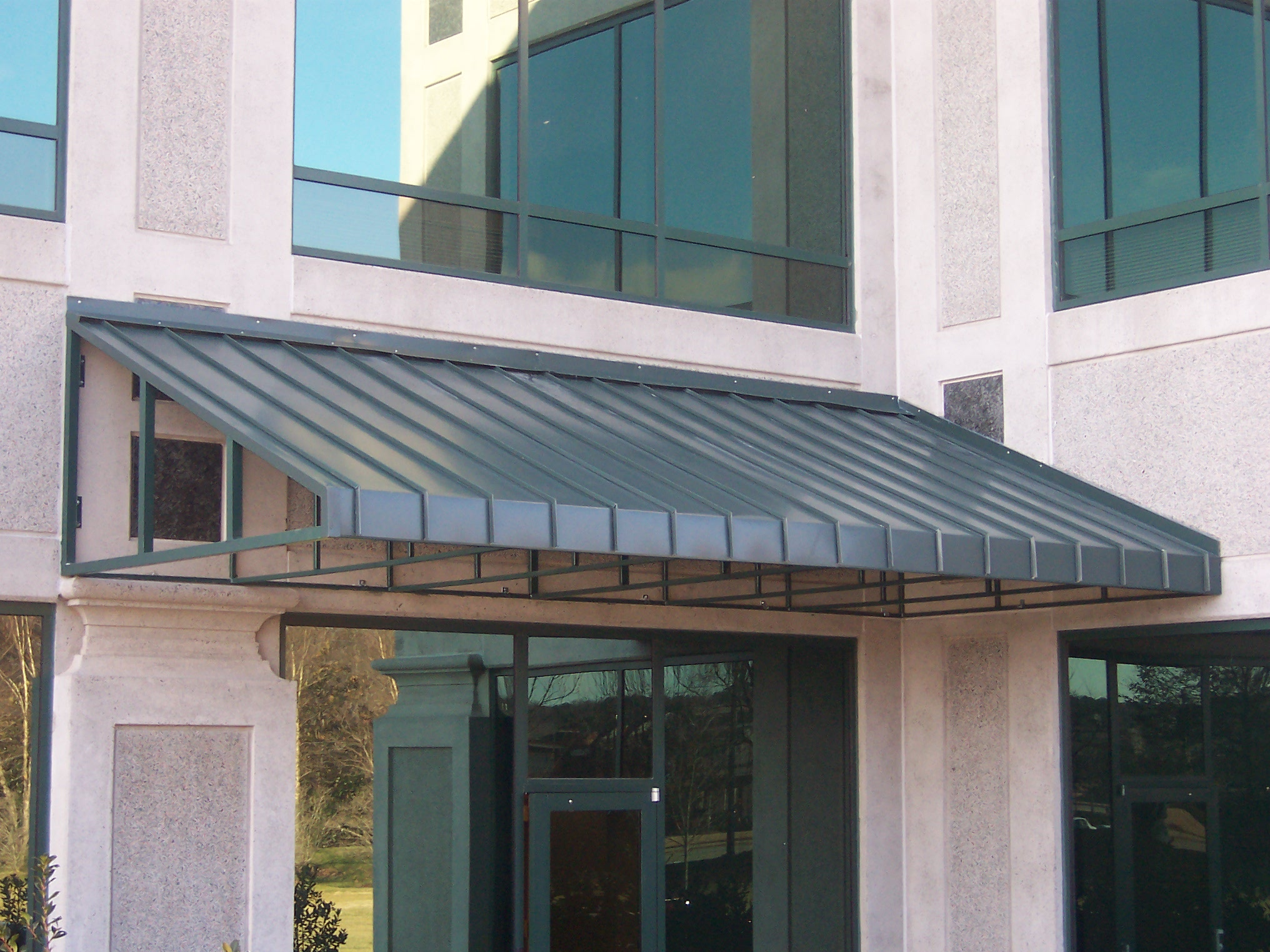 Standing Seam Awnings Affordable Custom Awnings Inc