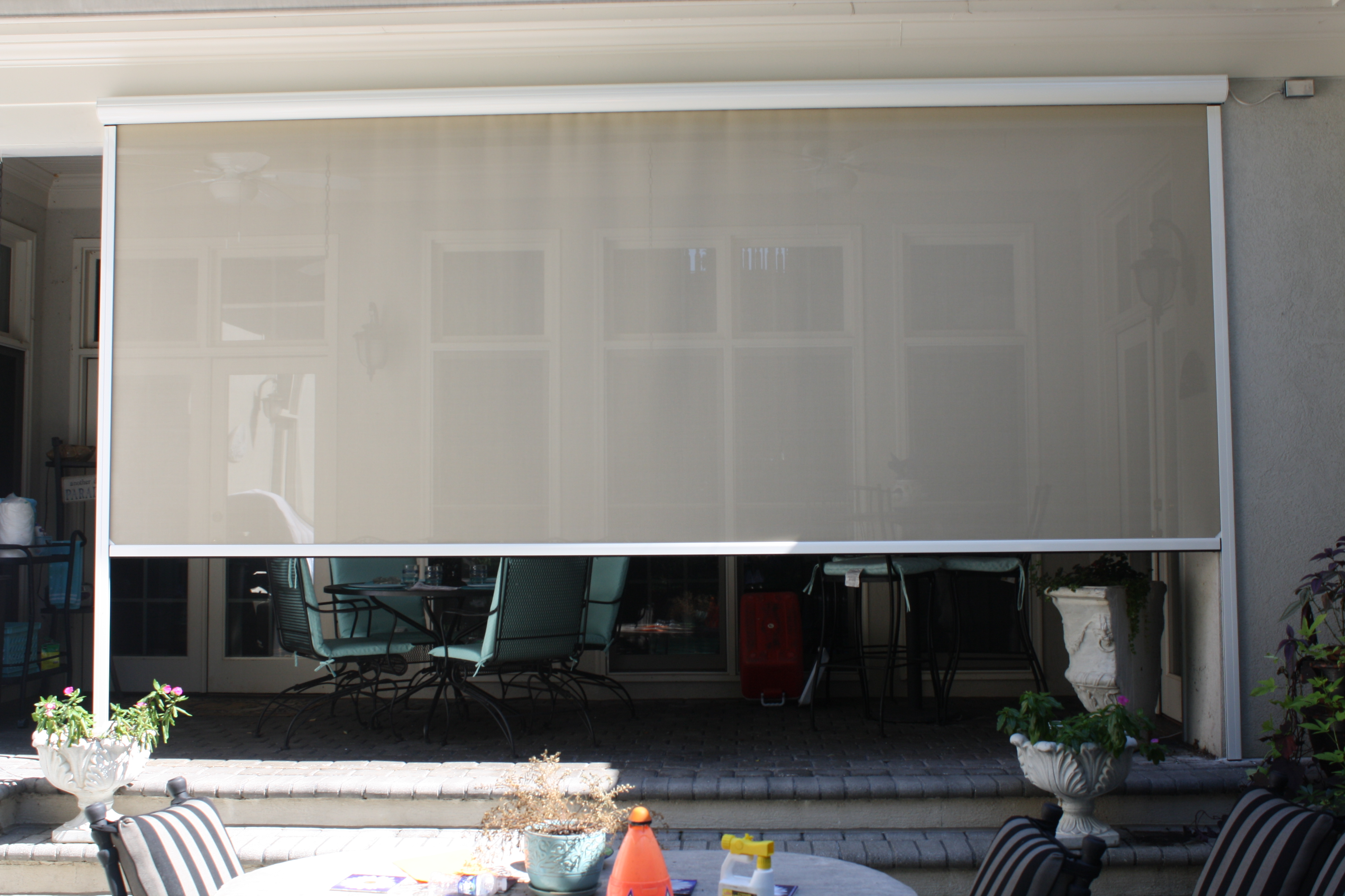 Power Curtains Affordable Custom Awnings Inc